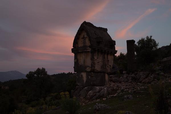 Ruins at Pinara