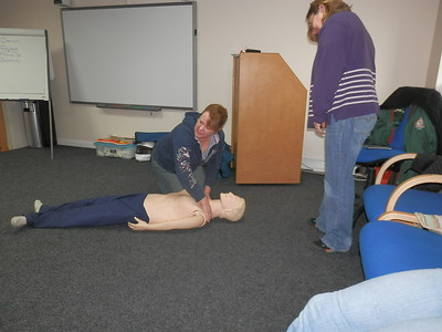 First Aid Training 1st March 2014