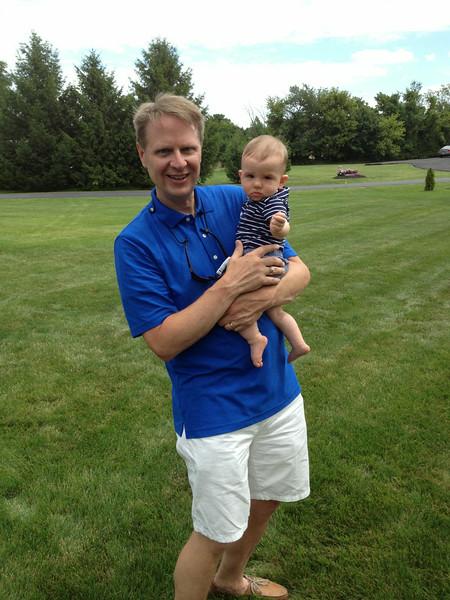 Scott with Grand Nephew Logan