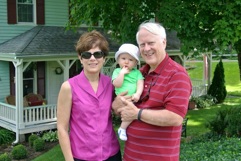 Wally &Mary with Logan, Adams Basin