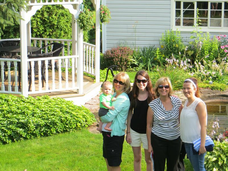 Logan, Susie, Emily, Judy and Amanda, Adams Basin