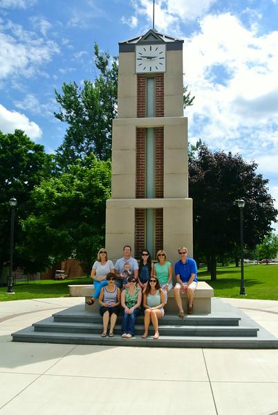 Bell Tower at Roberts Wesleyan College
