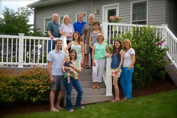 Family Photo courtesy of Mark Logan