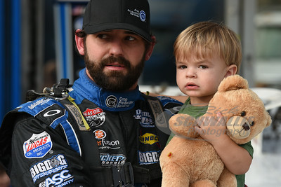 Jared Landers and his son Knox