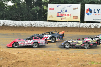21 Robby Hensley, 97 Michael Chilton and 3 Brian Gray
