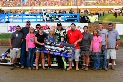 Scott Bloomquist won the Inside Pole Dash