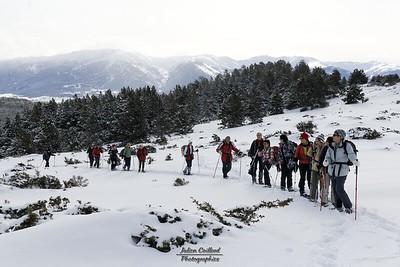 Pic dels Moros, montée vers la cabane de Llobins