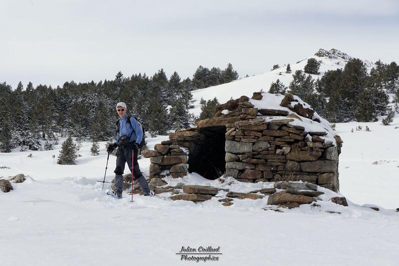 Pic dels Moros, cabane de Jaça d'Amunt
