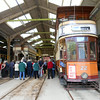 Our tour of the tram shed