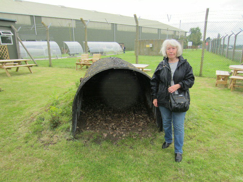 A WW11 Anderson Shelter