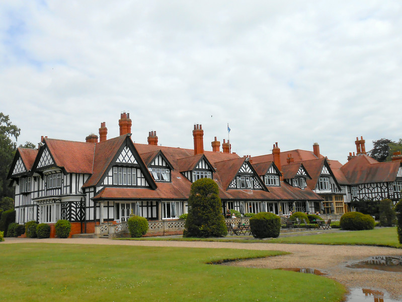 We had lunch at The Petwood Hotel