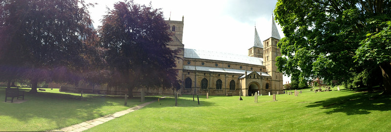 Southwell Cathederal using Pano on the iPhone