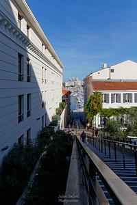 Rue Neuve Ste Catherine, vue sur le Vieux Port