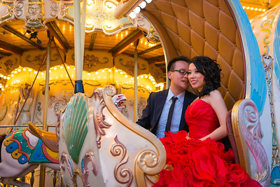 Gabby and Ted Pre wedding Paris photo session