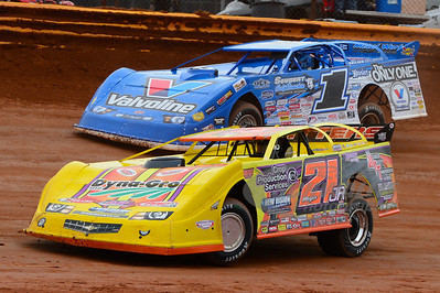 Billy Moyer, Jr. (21JR) and Brandon Sheppard (1)