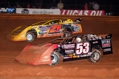 Ray Cook (53) and Billy Moyer, Jr. (21JR)
