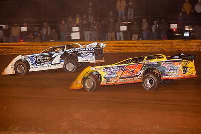 Jared Landers (777) and Billy Moyer, Jr. (21JR)