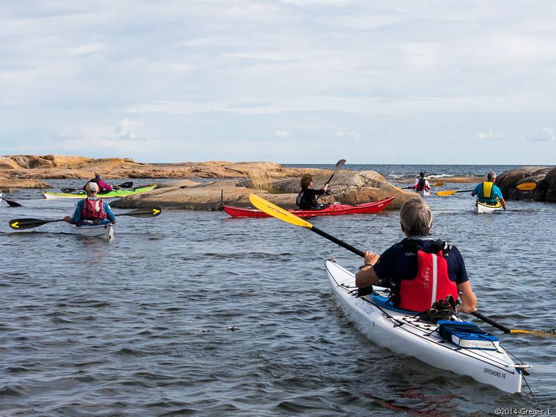 Passage innan öppet hav