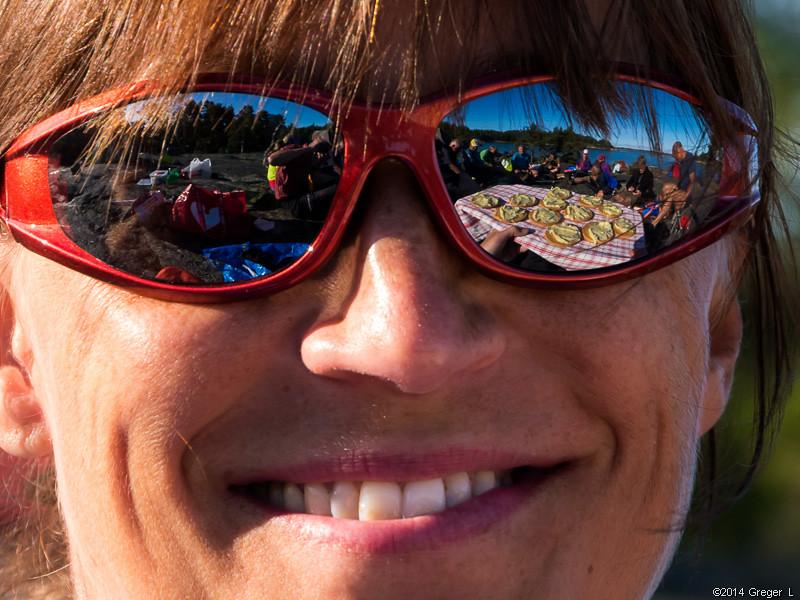 Åsas nya solbrillor