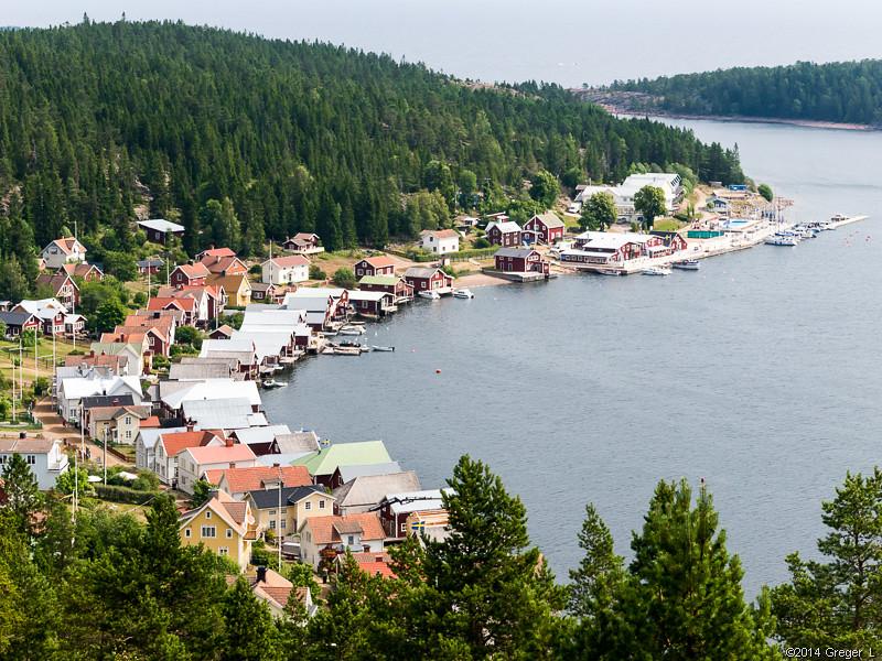 Utsikten över Ulvöhamn