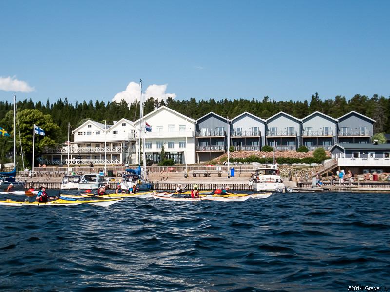 Hotell och gästhamn