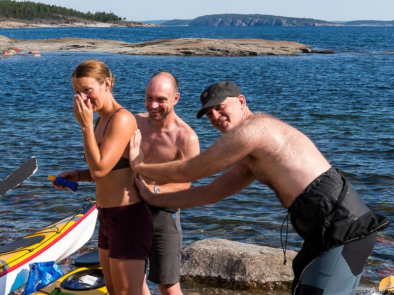 Ivar och Jesper kladdar lite