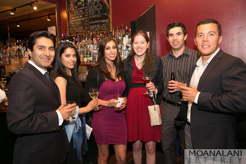 3773 Samir Bajaj, Nishana Moodley, Elissa Rosenberg, Michelle Jackson, Joel Francesconi, Josh Marlatt