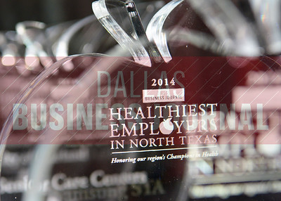 The Dallas Business Journal's 4th Annual Healthiest Employers in North Texas event was held today at the Hyatt Regency Dallas.