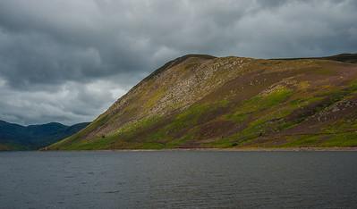 Heather at Loch Turret