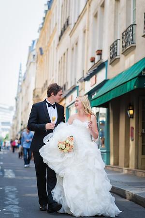 Heidi  & Joakim Paris wedding