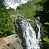Myrtle Falls,  above Paradise, 7-29-14