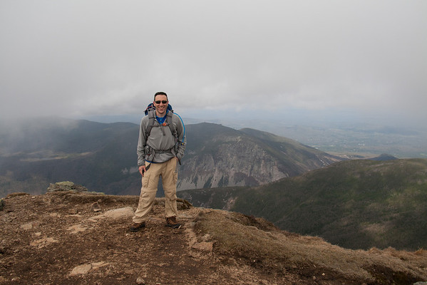 Hiking Mount Lincoln, Lafayette & Willey - May 2014