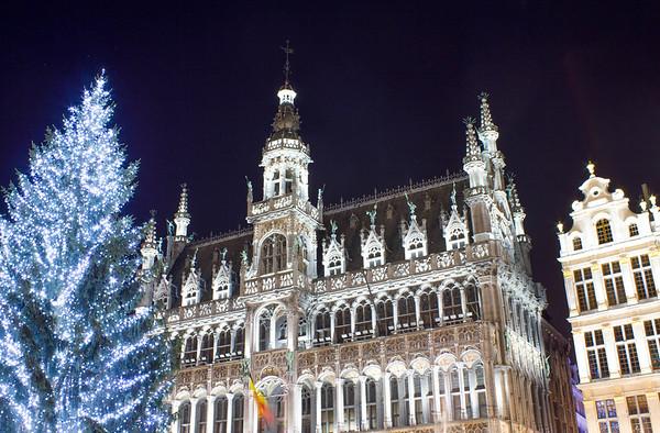 Winter Lights, Grande Place, Brussels