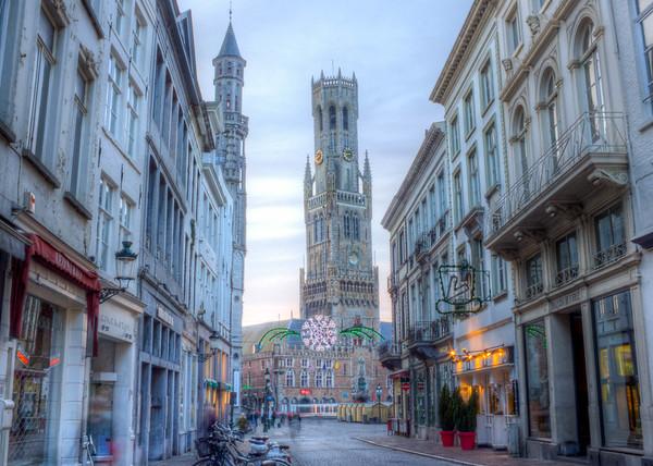 Brugges Clock Tower