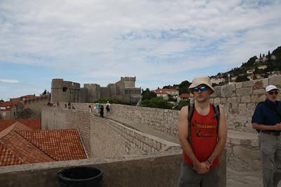 20140906 EuroTrip Dubrovnik Walls