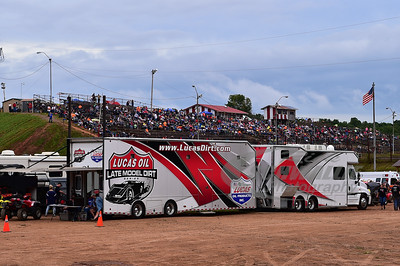 Lucas Oil Late Model Dirt Series Trailer
