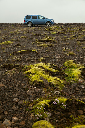 "Part 1 of many of our ""Dodge Commercial"" photos. Here's our durango on the way to Landmannalauger"