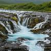 Brúarfoss, one of my favorite waterfalls. I love how blue it is