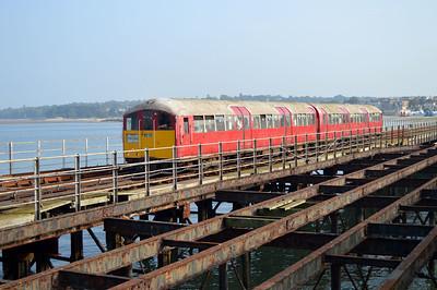 Class 483/0 483008 again on the pier.