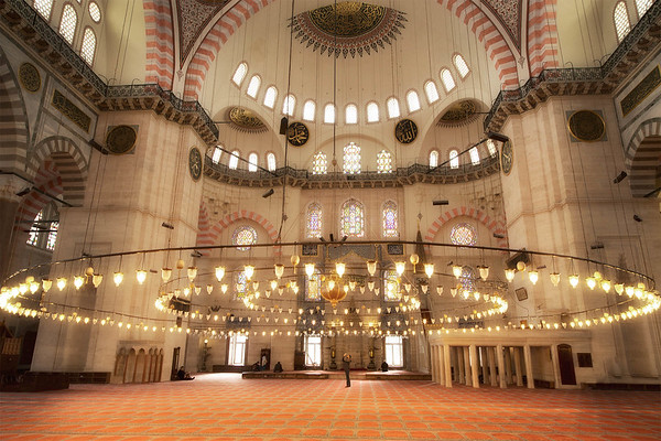 Suleymaniye Mosque with Photographer
