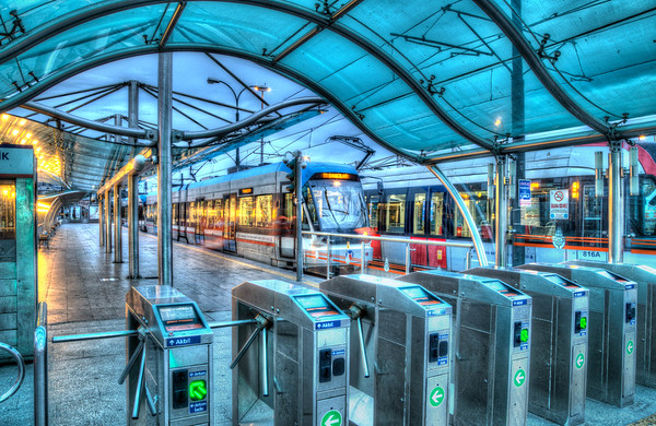 Istanbul Tram Station