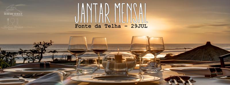 JANTAR MENSAL  29-07