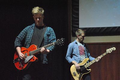 Thursday Night's worship service in Tucker Student Center.