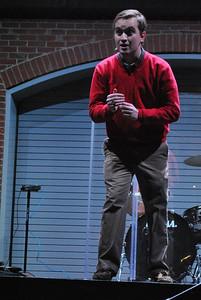 Zach Smith Preaches during Tuesday night verg