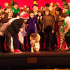 140128 Seuss JOED VIERA/STAFF PHOTOGRAPHER Lockport, NY- Desales Student's rehearse thier performances for Seussical, Jr. at the Palace Theater on Tuesday, January 28th.