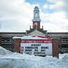 140128 3A Ent JOED VIERA/STAFF PHOTOGRAPHER Lockport, NY- Lockport schools like Emmet Belknap Middle were closed due to the weather on Tuesday, January 28th.