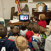 140120 Olympics JOED VIERA/STAFF PHOTOGRAPHER Lockport,NY-Children learn about the Olympics by watching past Olympic events at the History Center of Niagara on Monday, January 20th.