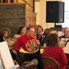 131224 Christmas Pageant JOED VIERA/STAFF PHOTOGRAPHER Lockport, NY-A brass section performs at this years All Saints Church Christmas Eve pageant on Tuesday Dec 24th, 2013.