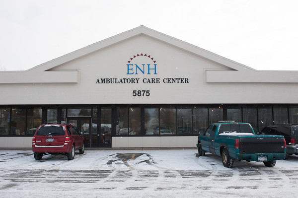 140116 Hospital JOED VIERA/STAFF PHOTOGRAPHER Lockport,NY- The construction site of Eastern Niagara Hospital's Regional Surgery Center on Thursday.