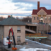 131220 Locks JOED VIERA/STAFF PHOTOGRAPHER Lockport, NY-Construction is underway to renovate Lockport's five locks Monday Dec 30th, 2013.